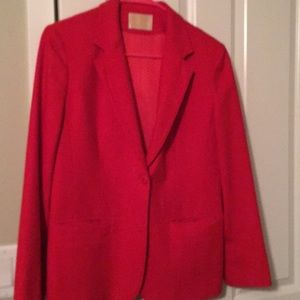 Vintage Red Pendleton Blazer Womens Size S Coat